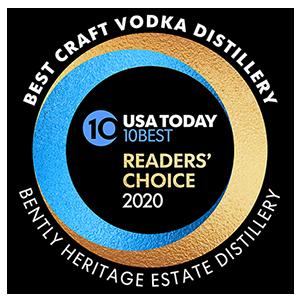 Voted a USA Today Top Ten Best Craft Vodka Distillery