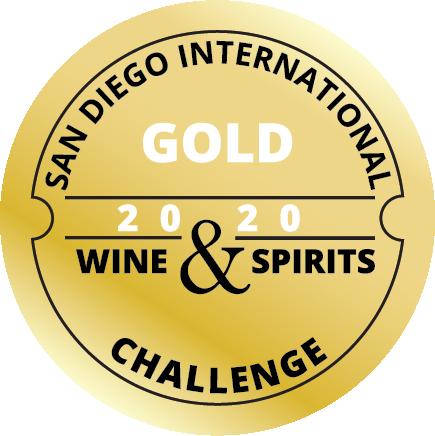 San Diego International Wine & Spirits Challenge Gold: 90 Points