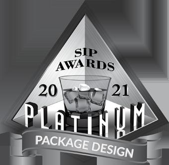 SIP Award Bottle Design Platinum