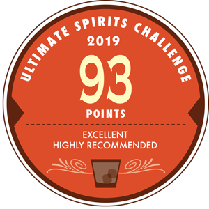Ultimate Spirits Challenge Gold: 93 Points