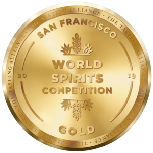 SF World Spirits Competition Gold