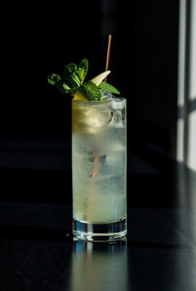 Sparking Wine Cocktail with Juniper Grove Gin
