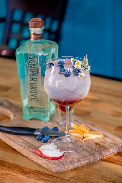Fourth of July Cocktail with Juniper Grove American Dry Gin
