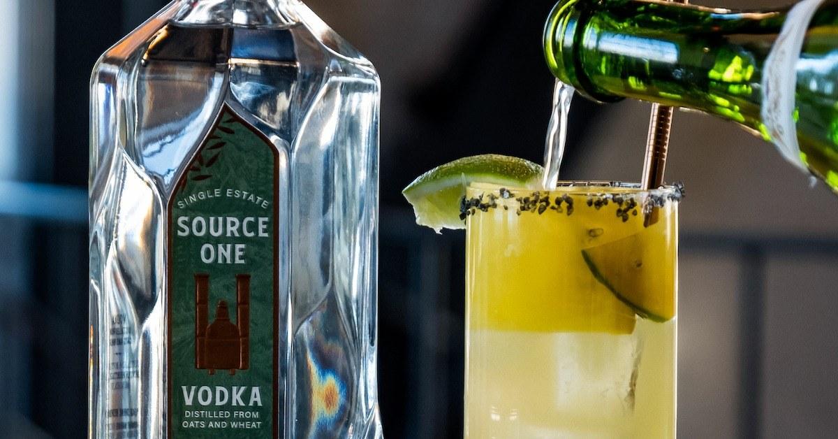 Source One Vodka Cocktail