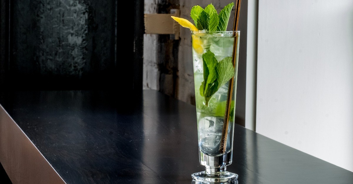 American Dry Gin Cocktail