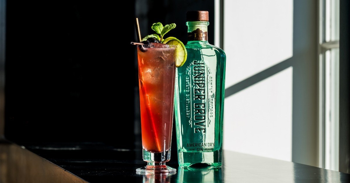 Juniper Grove American Dry Summer Gin and Tonic