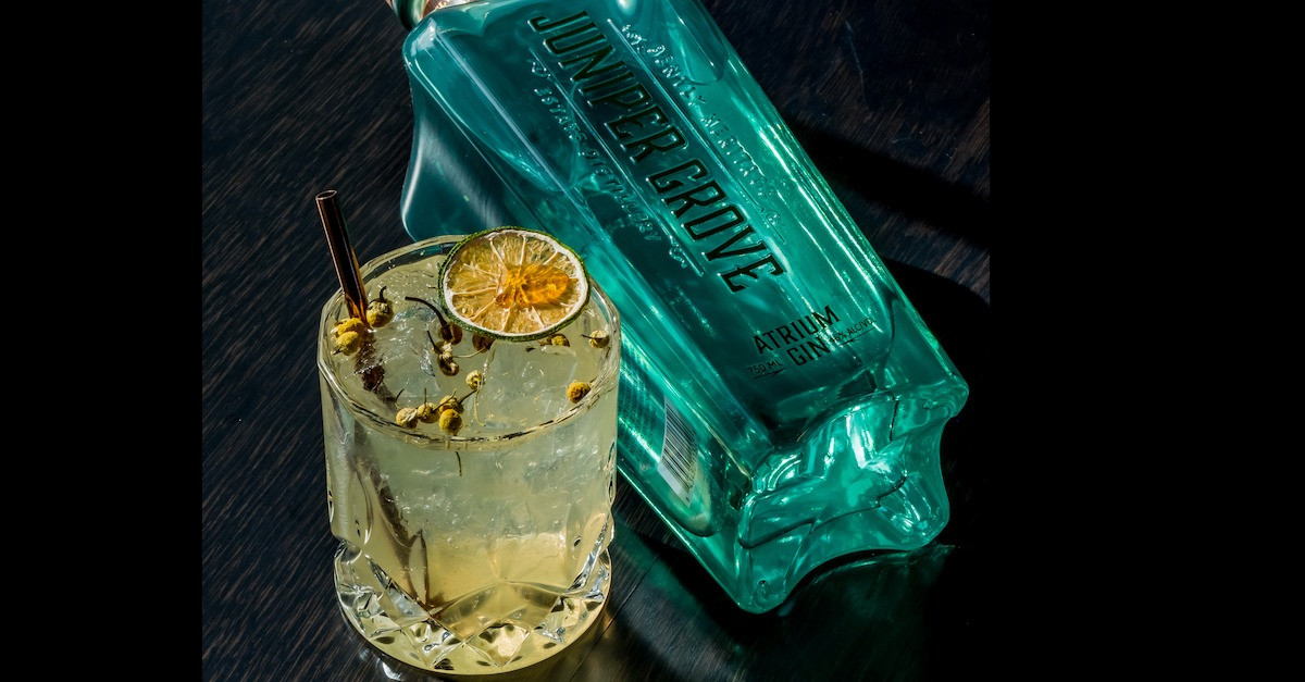 Juniper Grove Gin and Tonic with Chamomile Honey