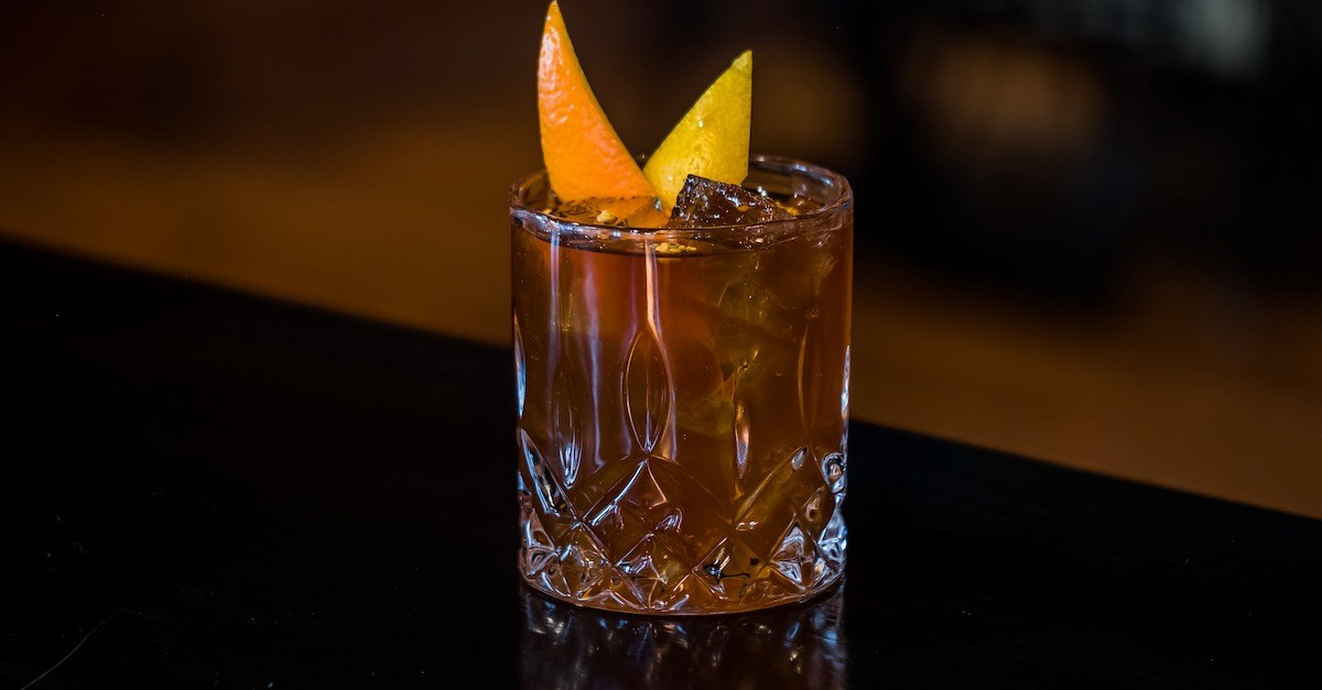 Spring inspired Old Fashioned Cocktail Recipe