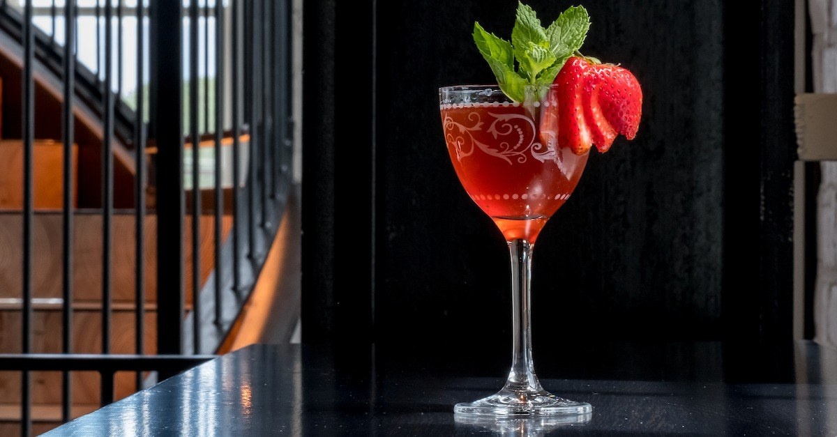 Source One Sherry Rested Summer Cocktail
