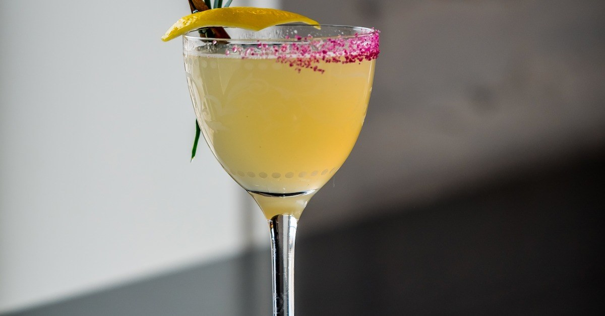 Easter Brunch Cocktail with Atrium Gin