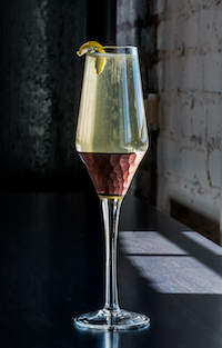 Juniper Grove Gin French 75 Cocktail