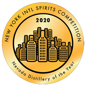 Nevada Distillery of the Year from the NY International Spirits Competition